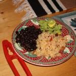 a-baja-twist-black-beans-mexican-rice-and-guacamole