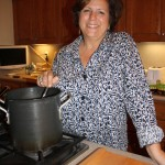 Barbara Making Pozole