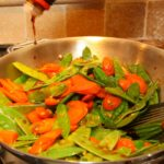 Carrot and Snow Pea Stir Fry 150x150 A Cooking Collaboration: Biotech Women Recreate Authentic Tastes of Indonesia