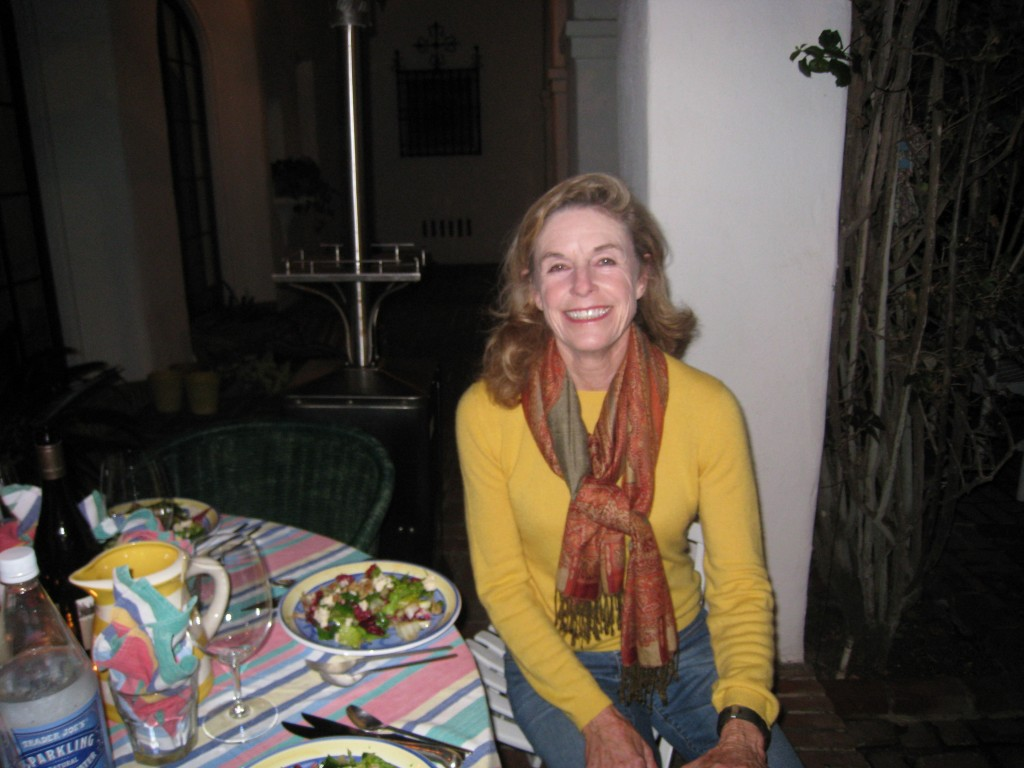 Fabulous food critic and hostess, Maureen Clancy