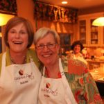 Hostess Susan Dube and Karin 150x150 A Cooking Collaboration: Biotech Women Recreate Authentic Tastes of Indonesia
