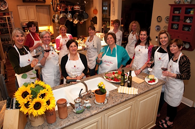 Cooking Team in the Kitchen