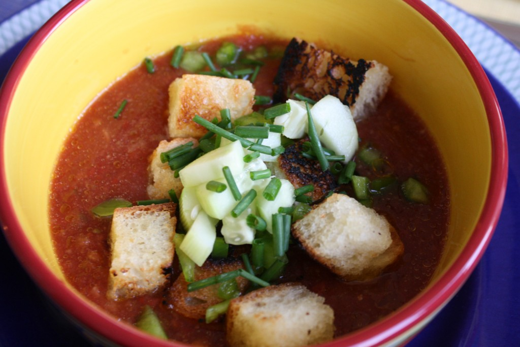 Vodka-Laced Gazpacho
