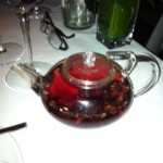 Black currant and Hybiscus tea