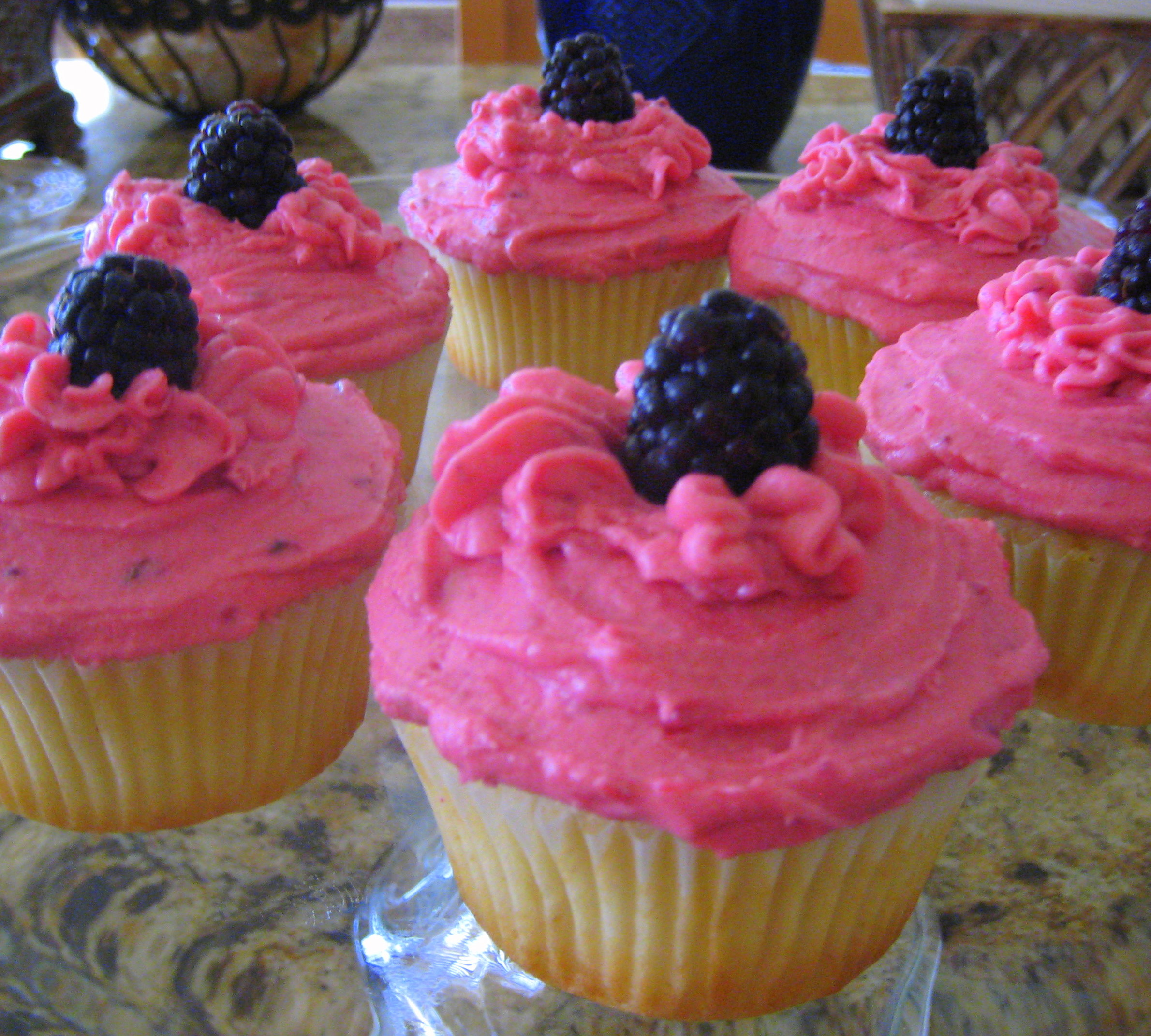 Lise' Shares Winning Recipe for Lemon Blackberry Cupcakes | Cook the ...
