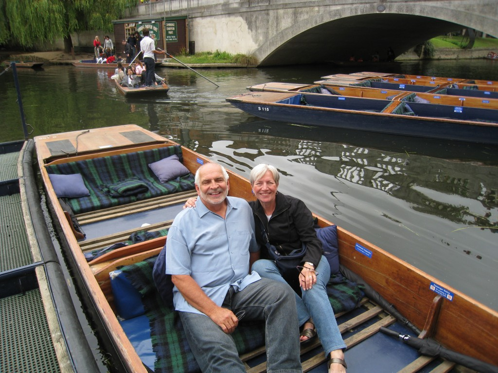 Punting in Cambridge 1024x768 Think Homegrown and Local.  Think Bistro du Vin in Cambridge, UK