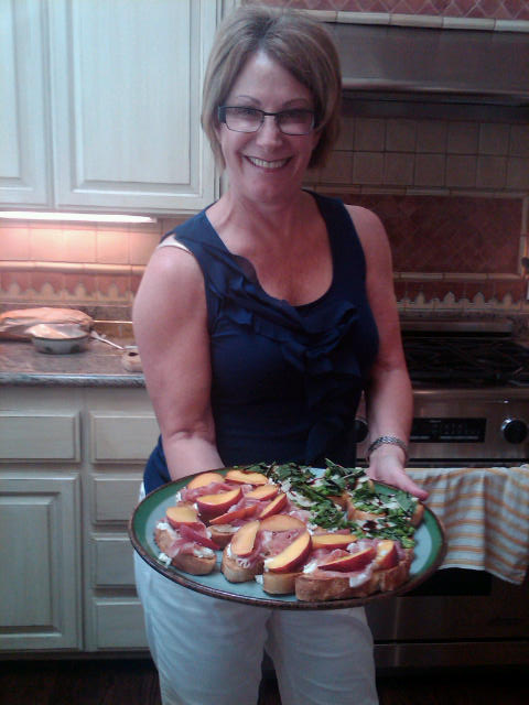 Wendy Johnson demonstrates How to Make Crostini like a Pro