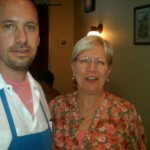 Chef Ryan Lowder with Karin