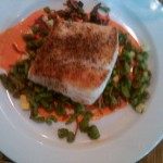 Griddled Alaskan Halibut