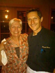 Chef Franck with Karin 225x300 Tour de Francks
