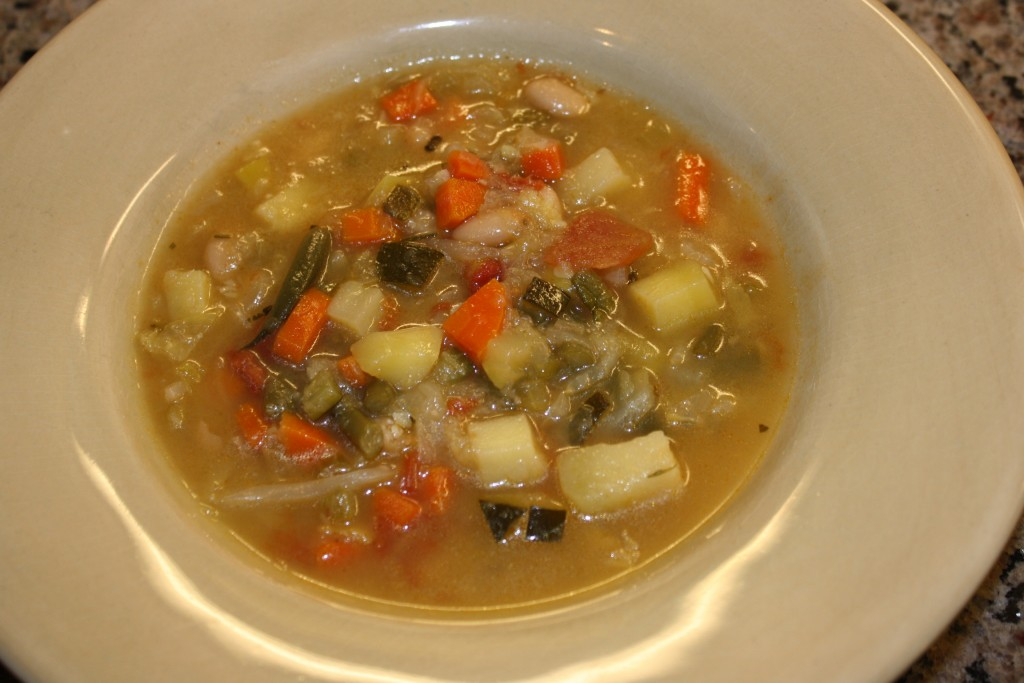Minestrone Soup (Vegetarian)