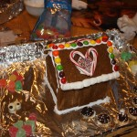 Kaya's First Gingerbread House