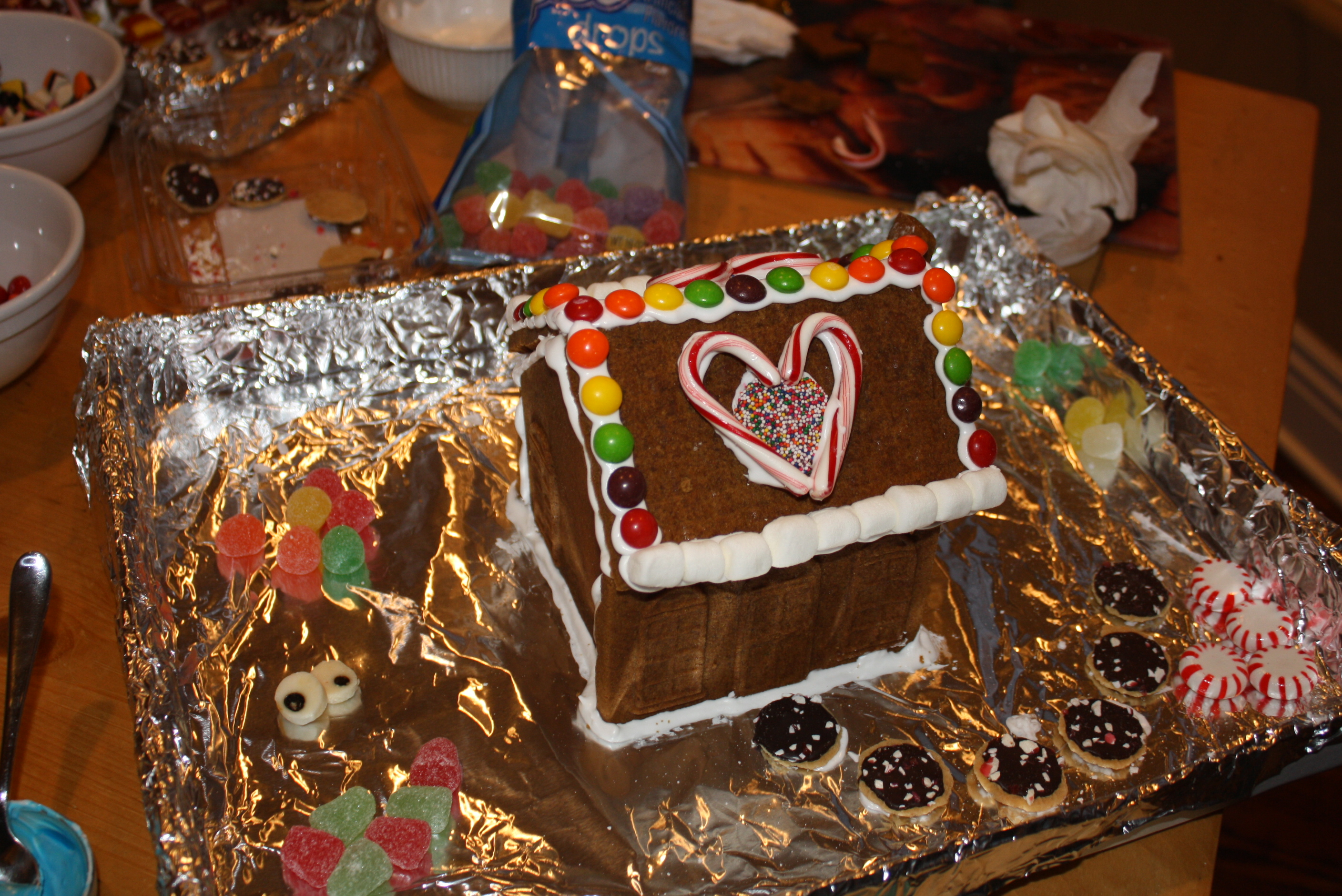 Building Traditions:  The Gingerbread Village