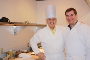 Teammates Fred and John 300x200 Secrets of the CIA:  Team Cooking by AIWF Members from Across the Country