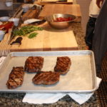 The Steaks are resting 150x150 Secrets of the CIA:  Team Cooking by AIWF Members from Across the Country
