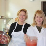 Tina Marie and teammate prepare duck  150x150 Secrets of the CIA:  Team Cooking by AIWF Members from Across the Country
