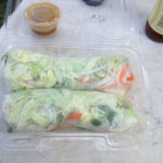 Vegetarian Spring Rolls from LA Food Trucks