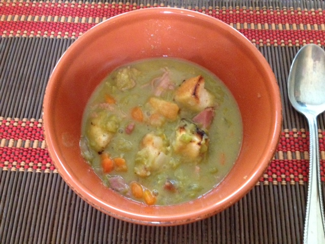 Eat Your Peas!  Never a Problem with Fabulous Split Pea Soup!
