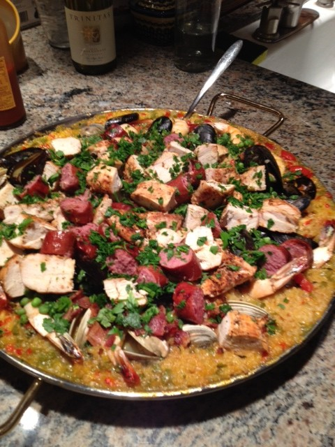 Paella2 e1346631349893 Spanish Paella, Made Easy!