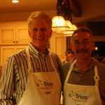 Wain hosts Trius board for team cooking