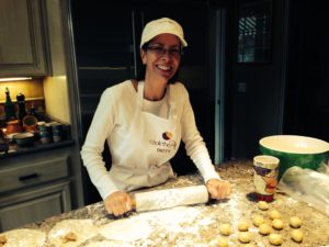 Patty helps make Kieflies 300x225 Macaroons: A Great Sidekick for Kieflies